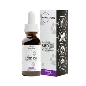 CBD Pet Tincture Bacon Flavored